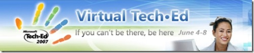 virtual tech ed 2007
