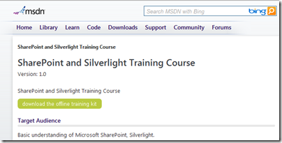 sharepoint-silverlight-msdn-course
