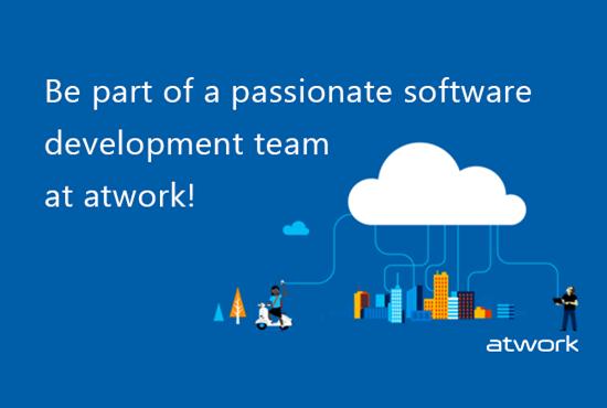 atwork sucht engagierte Software DeveloperInnen!