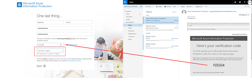 blog atwork at | Azure information protection user