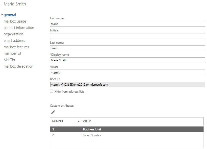 how to change a user job title in office 365