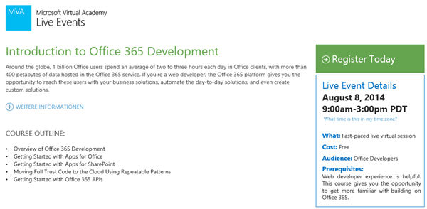 Introduction to Office 365 D ...
