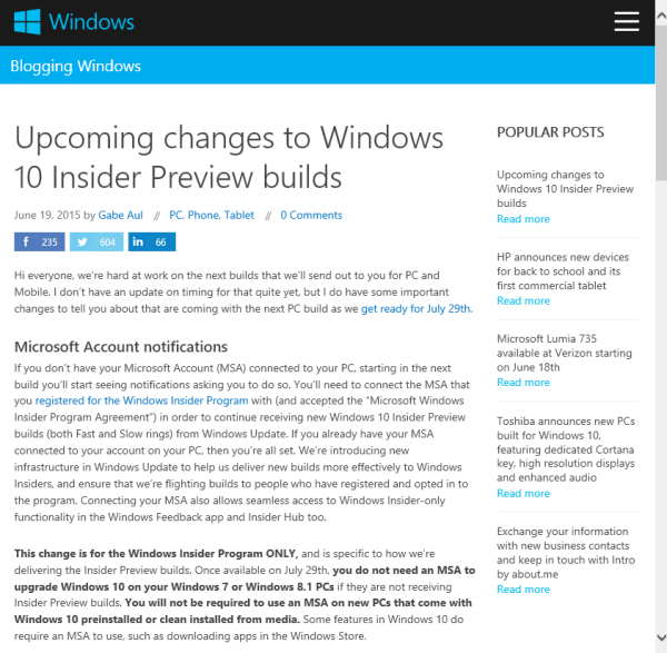 blog atwork at | The next steps on Windows 10