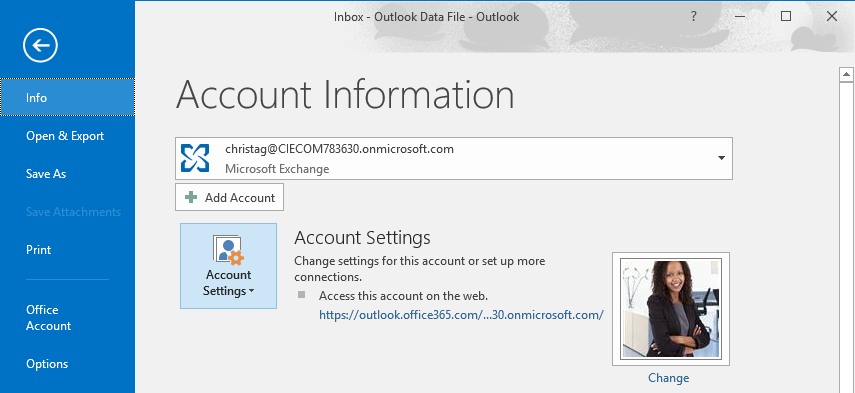 Access or export mailbox content in Delegate365 and