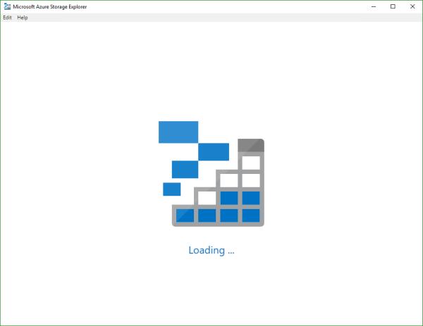 blog atwork at | A new version of Microsoft Azure Storage Explorer
