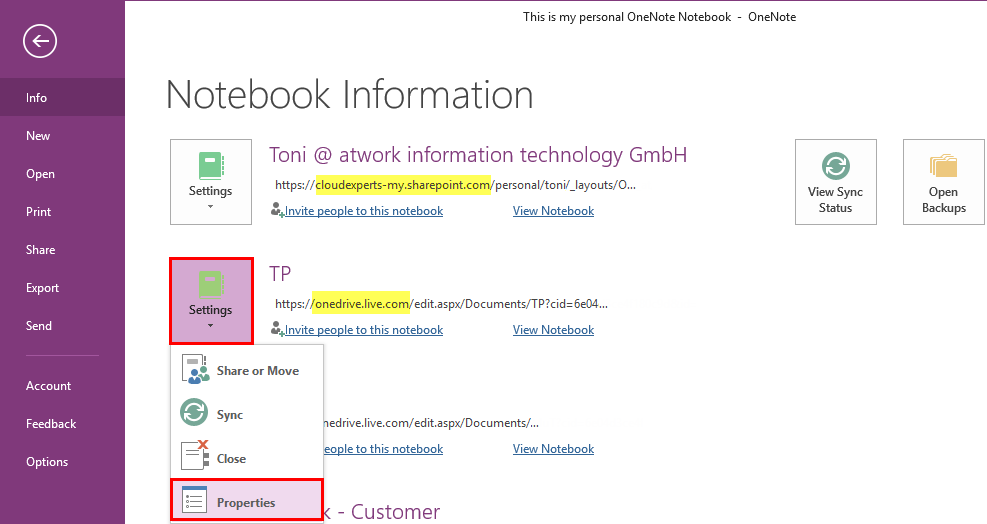 how to download onenote notebook from sharepoint
