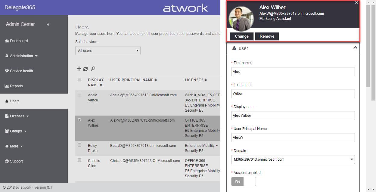 Delegate365 changelog version 8 0-A new major release - atwork