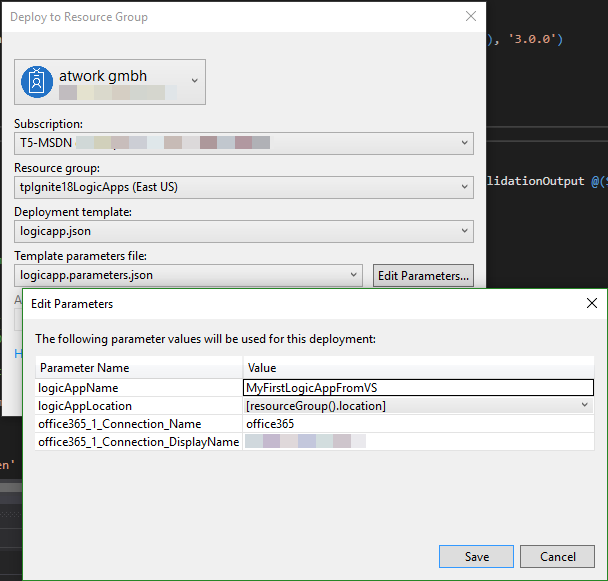 blog atwork at | Working with the Azure Logic Apps Tools for