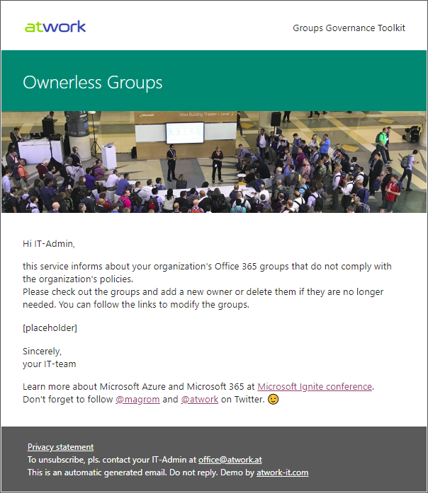 blog atwork at | Groups Governance Toolkit Part 4-Ownerless