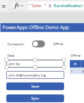 blog atwork at | Tips for PowerApps-Working Offline with