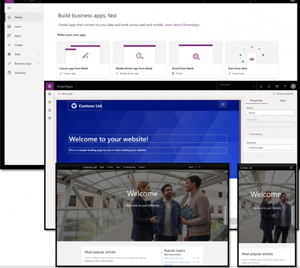 blog atwork at | Hello, PowerApps Portals (and external users)!