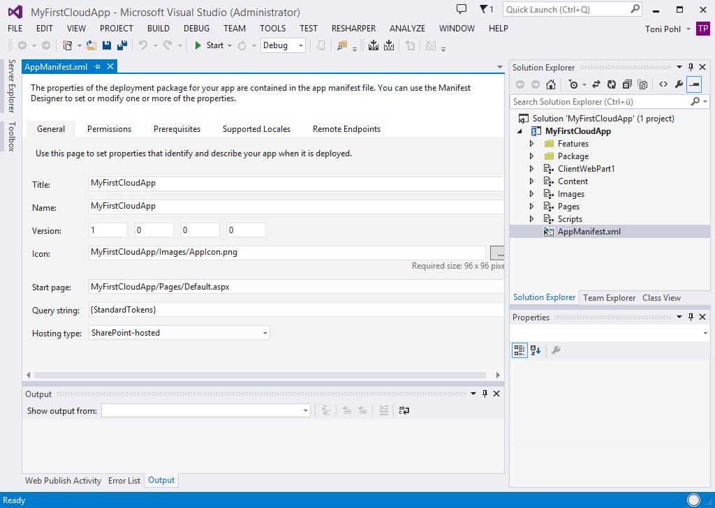 atwork.blog | SharePoint Apps mit Office 365 und NAPA entwickeln