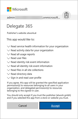 Delegate365 changelog version 7 4-additional reports with risk