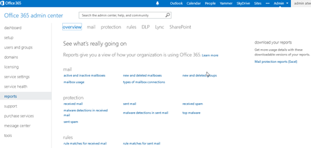 blog atwork at | Hidden Features of Office 365: easy self