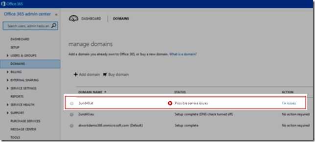 Office 365 DNS Checks