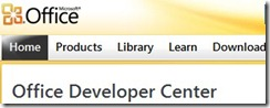 office_2010_developer_center