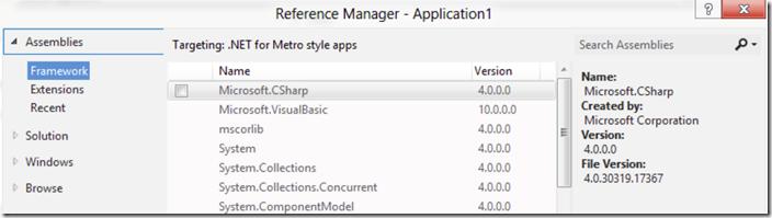 visual-studio-11-beta-references