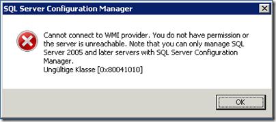 wmi-provider-error